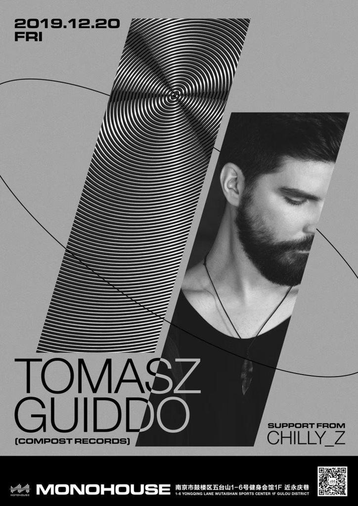 Monohouse Night: Tomasz Guiddo I Chilly_z - Flyer front