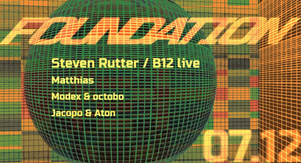Foundation with Steven Rutter B12 Live - Flyer front