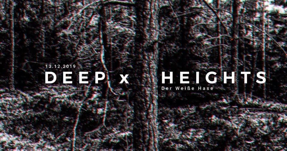 Deep x Heights - Flyer front