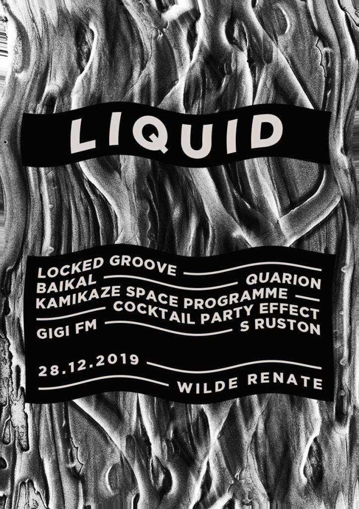 Liquid w. Locked Groove, Baikal, Quarion & More - Flyer back