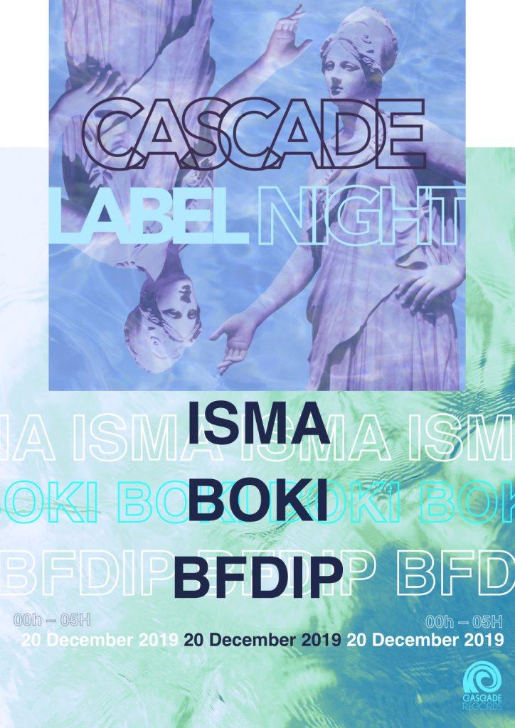 Cascade Label Night - Flyer back