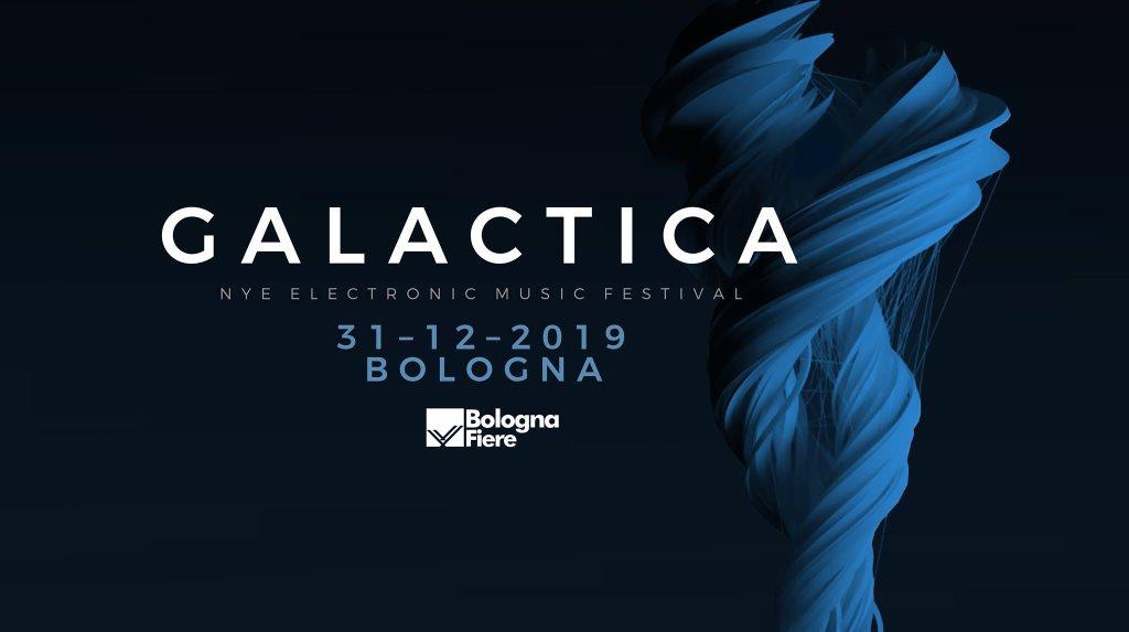 Galactica NYE Festival 2019 - Flyer front