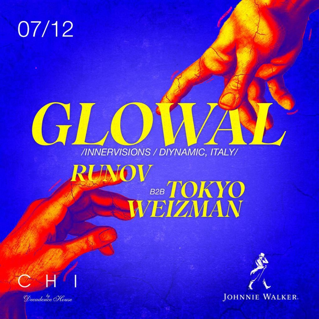 Glowal in CHI - Flyer front