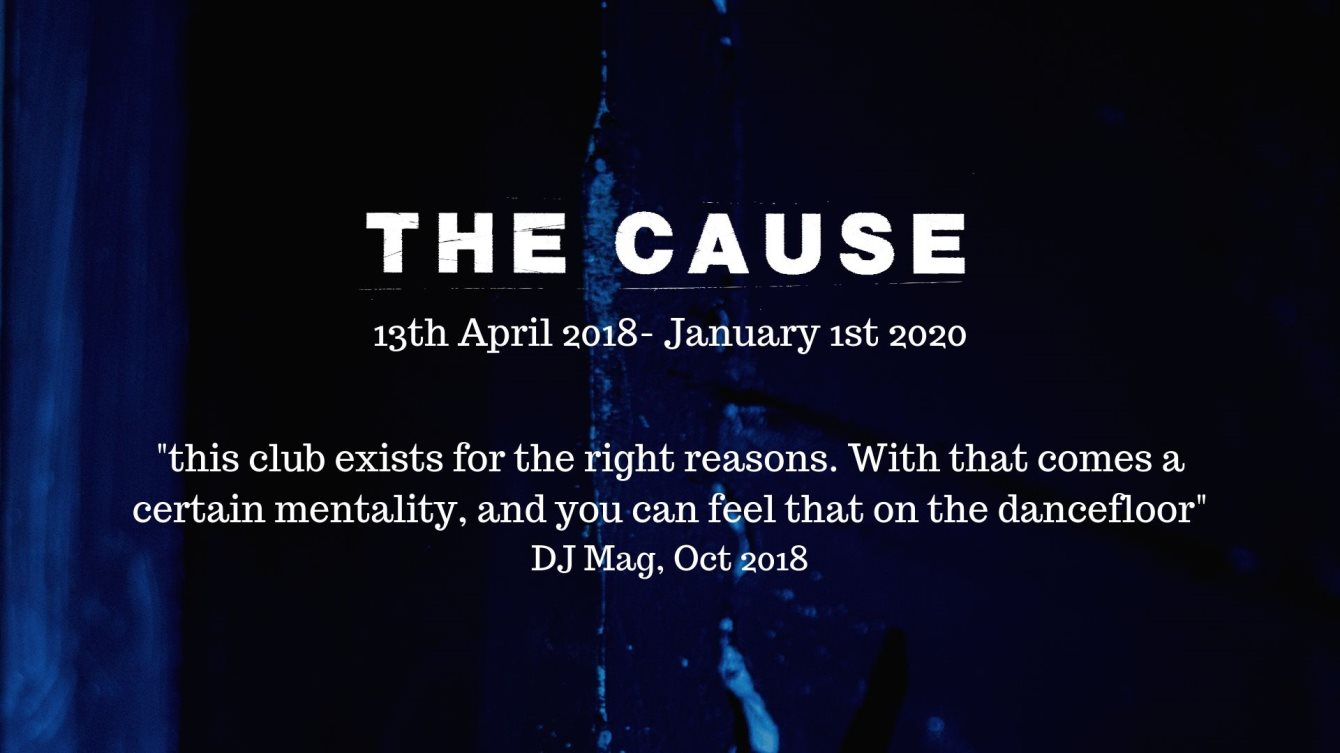 The Cause NYE: Double Venue Party - Flyer front