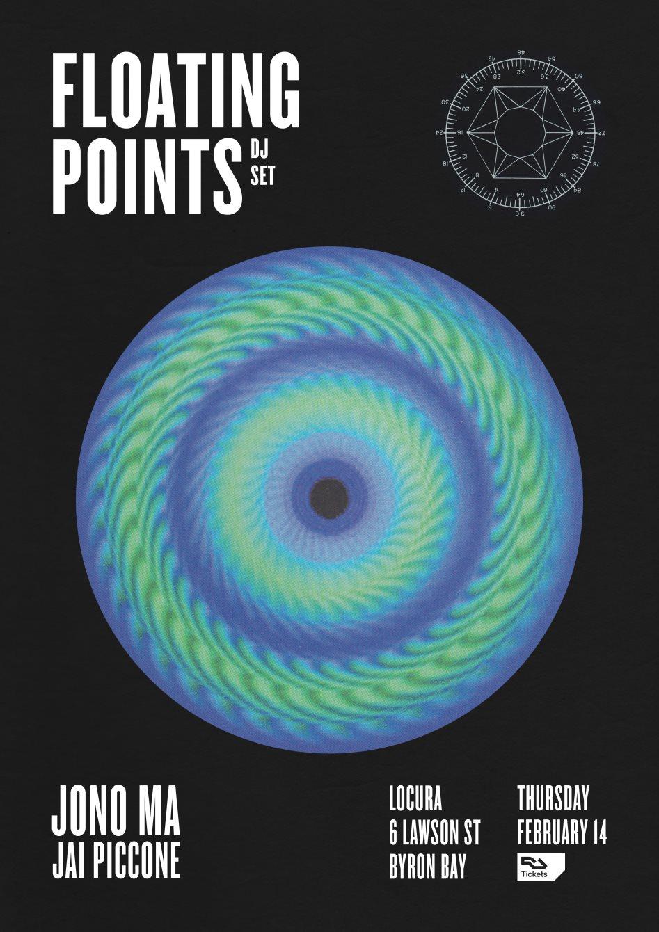 Floating Points (DJ Set) - Flyer front