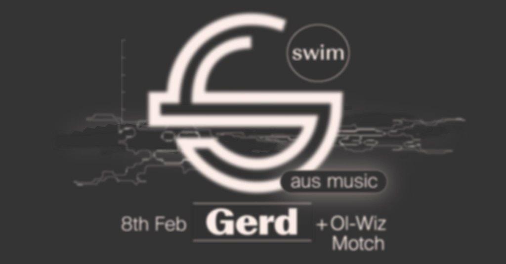 Swim ~ Gerd - Flyer front