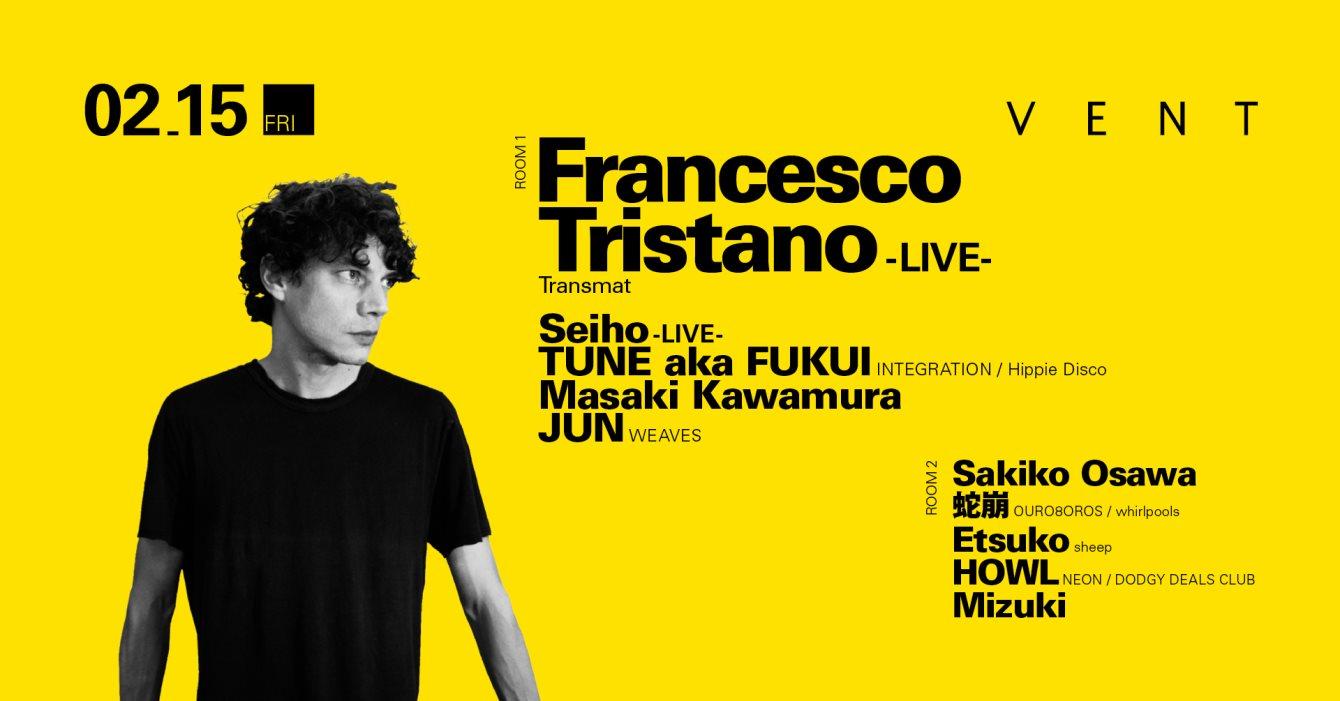 Francesco Tristano - Flyer front