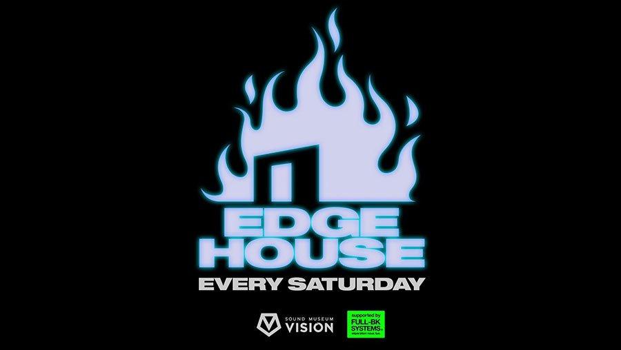 Edge House Feat.Claptone - Flyer back