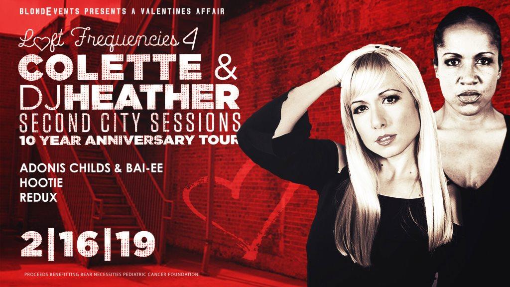 Loft Frequencies 4 - Feat. Colette & DJ Heather - Flyer front
