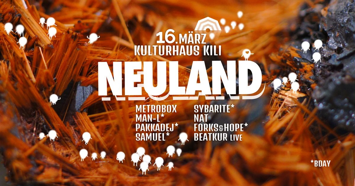 Neuland - Flyer front