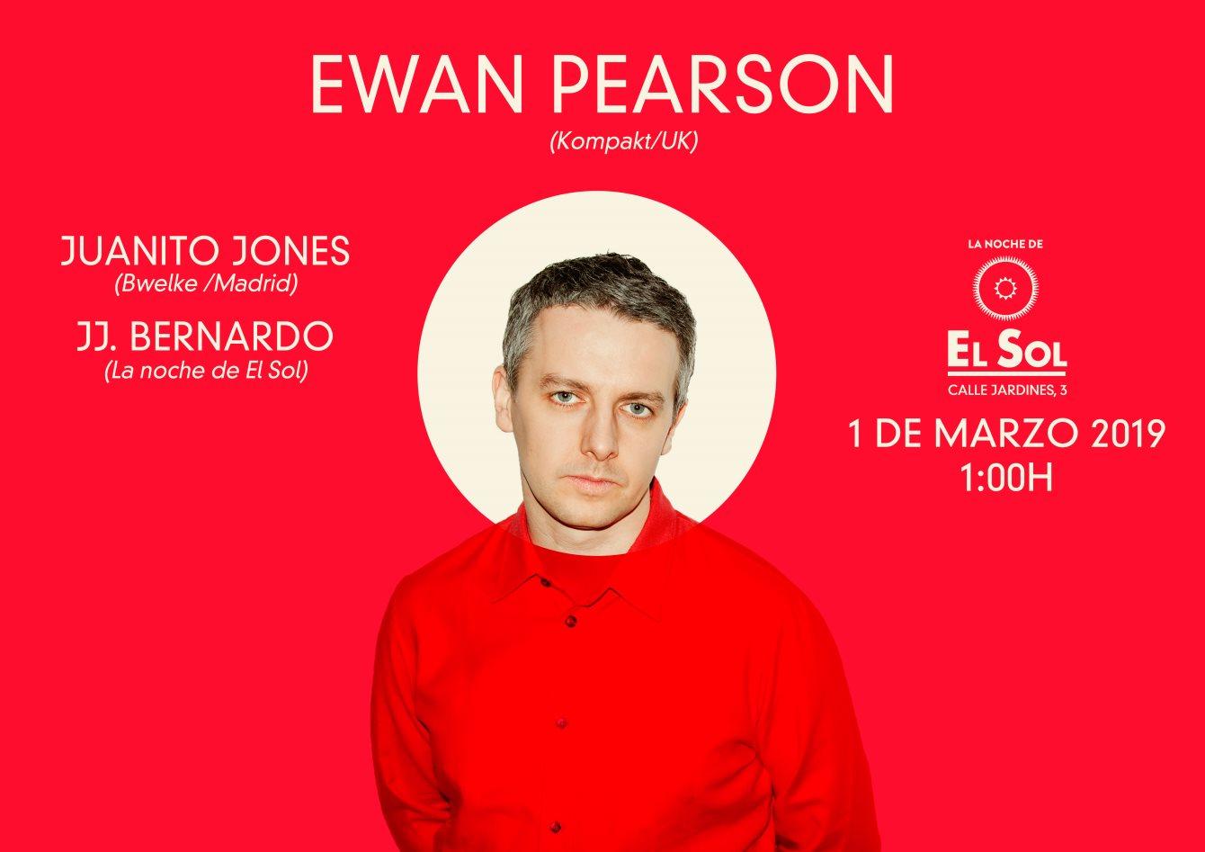 La Noche de El Sol presenta: Ewan Pearson (Kompakt) - Flyer front