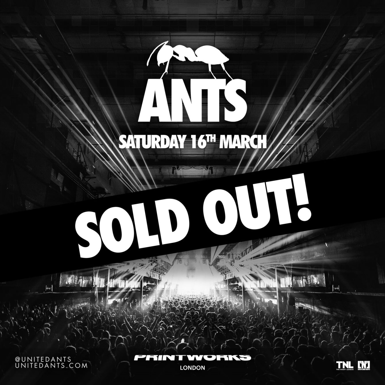 ANTS - Flyer front