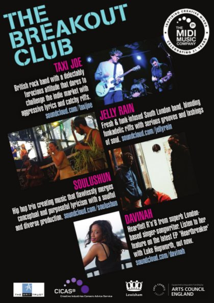 The Breakout Club - Flyer back