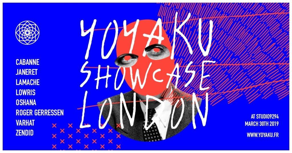Yoyaku London - Flyer front