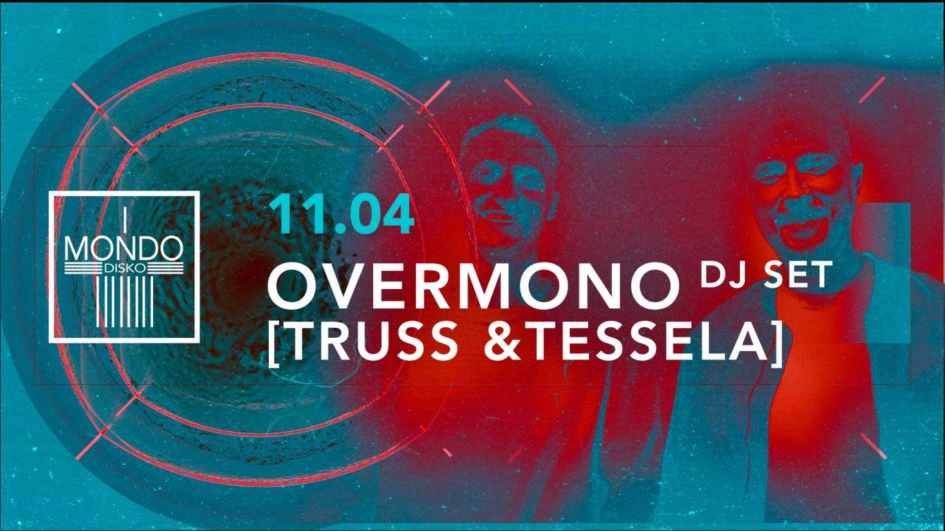 Overmono [Truss & Tessela] - Flyer front