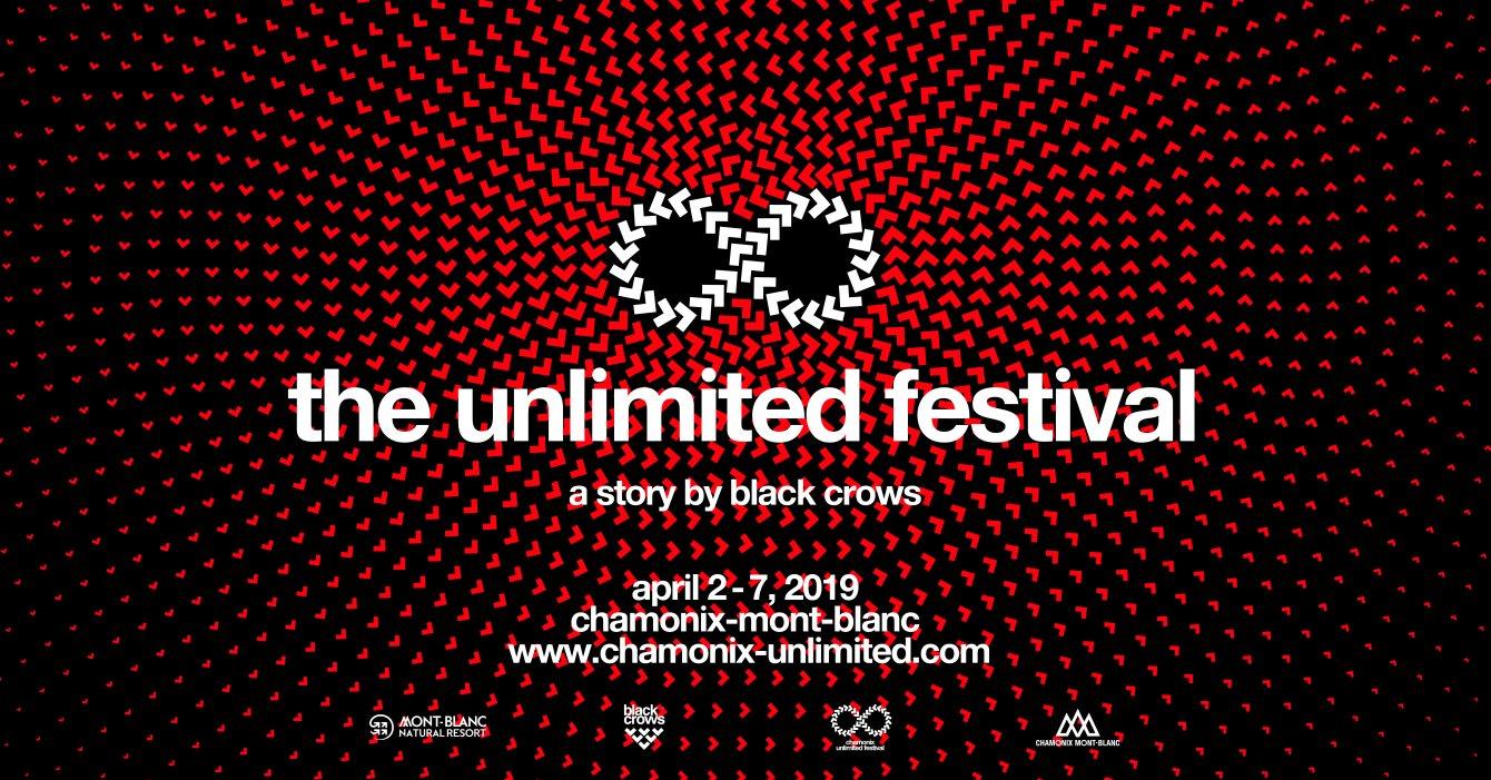 Chamonix Unlimited Festival 2019 - Flyer front