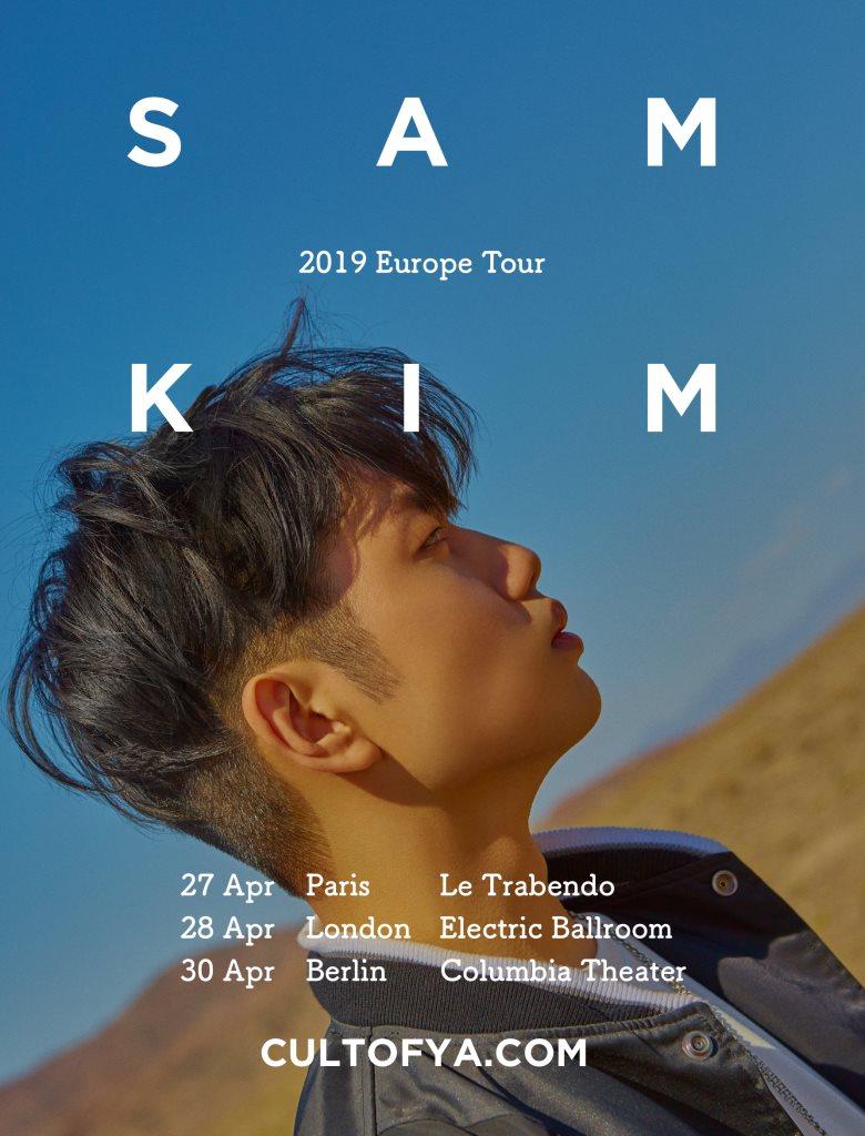 SAM KIM - Flyer front