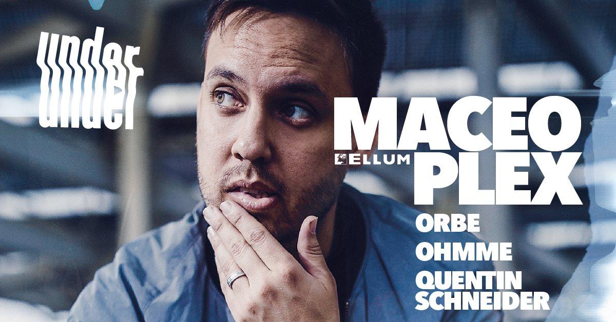 Under. Maceo Plex, Ohmme, Quentin Schneider, Orbe - Flyer front