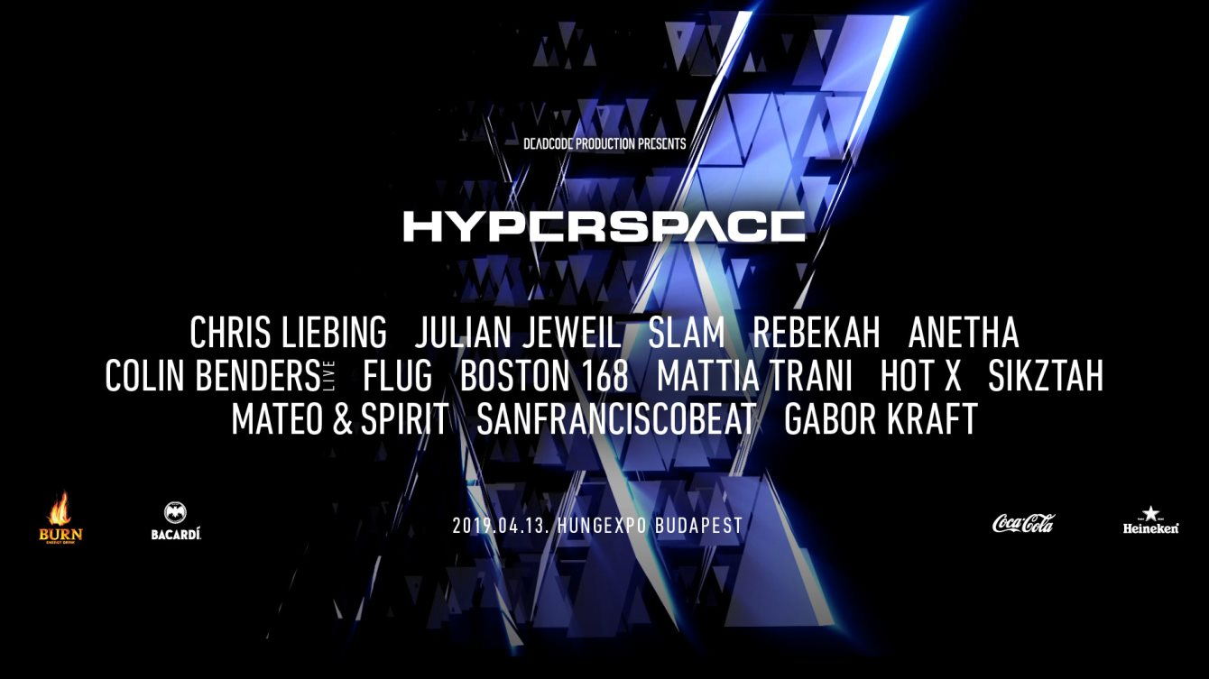 Hyperspace 2019 - Flyer front