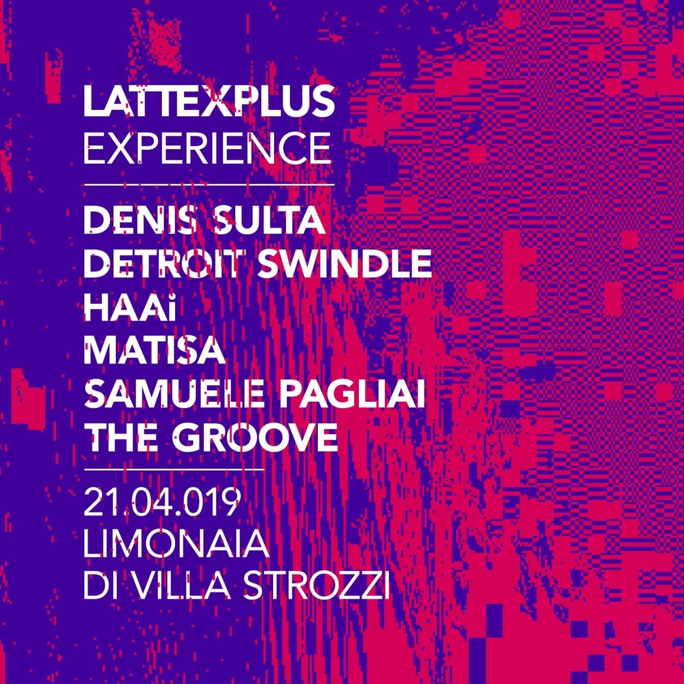 Lattexplus Experience 2019 - Flyer back