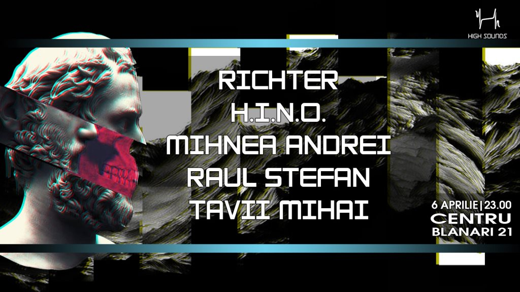 HS Into Centru with Richter ✰ Mihnea A ✰ Hino ✰ Raul S ✰ Tavii M - Flyer front