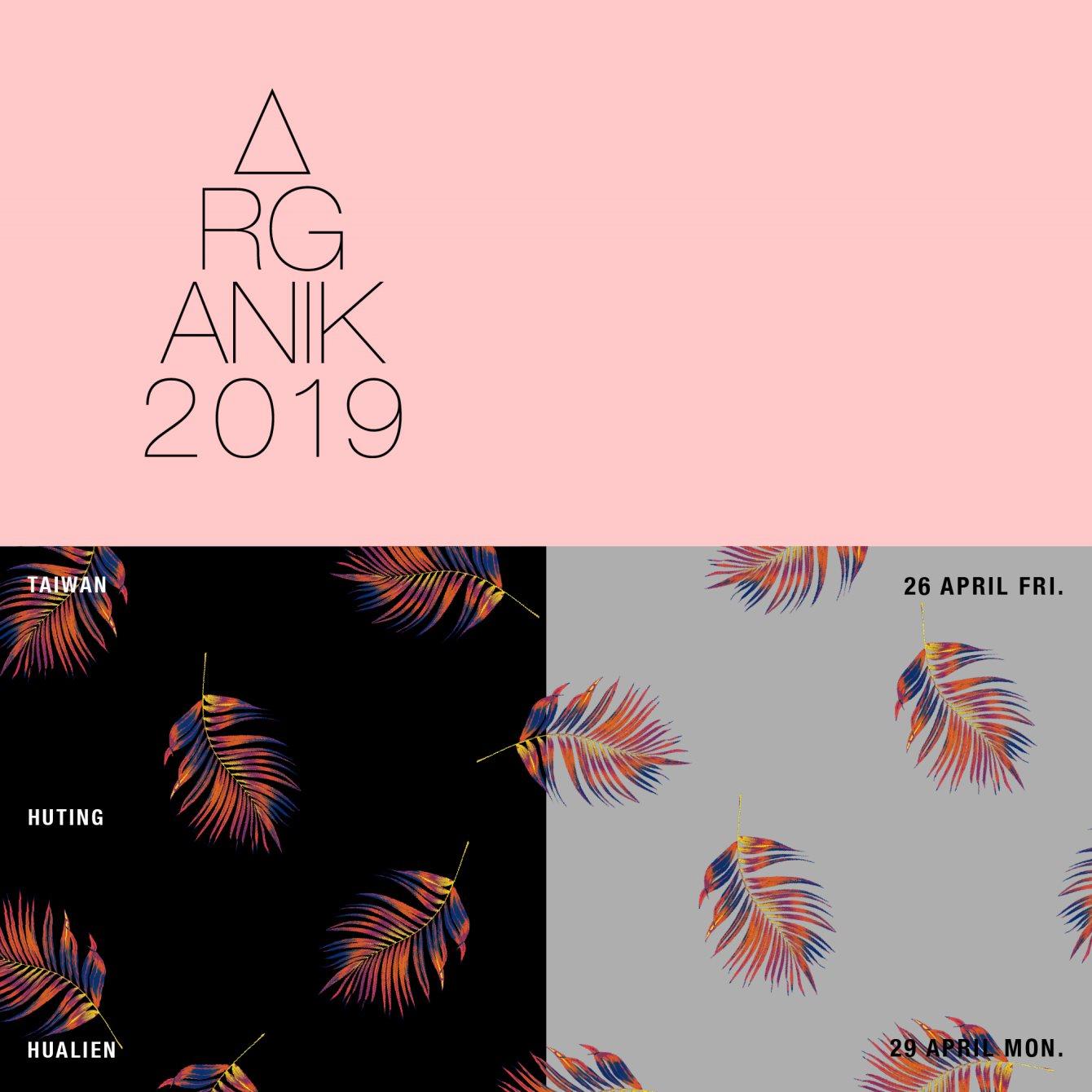 Organik Festival 2019 - Flyer front