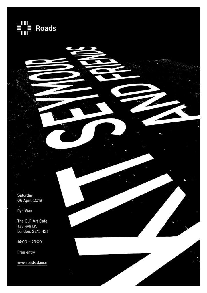 Roads 23: Kit Seymour & Friends - Flyer back