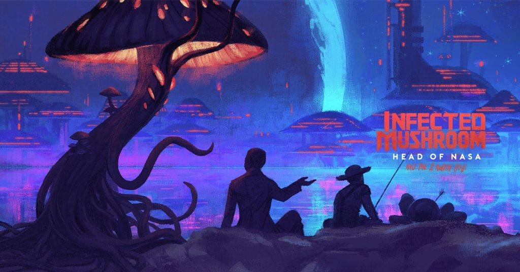 Infected Mushroom / Randy Seidman - Flyer front