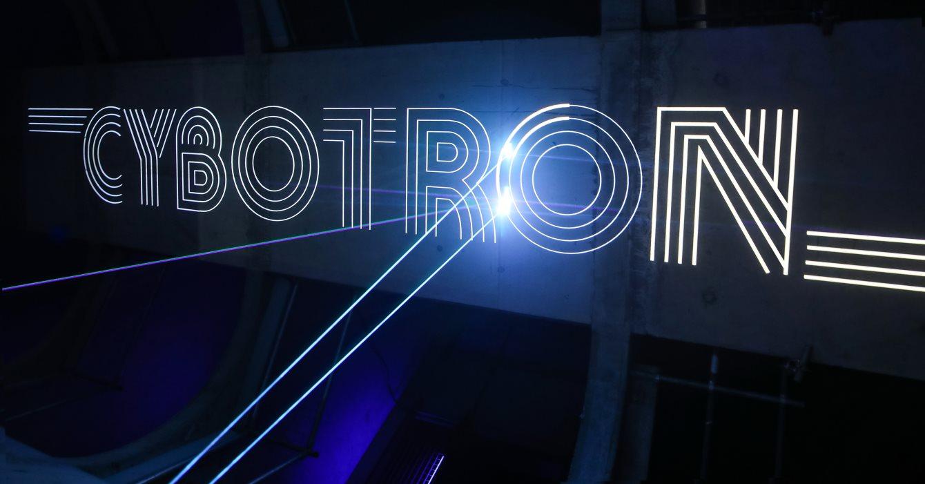 Cybotron Live - Flyer front