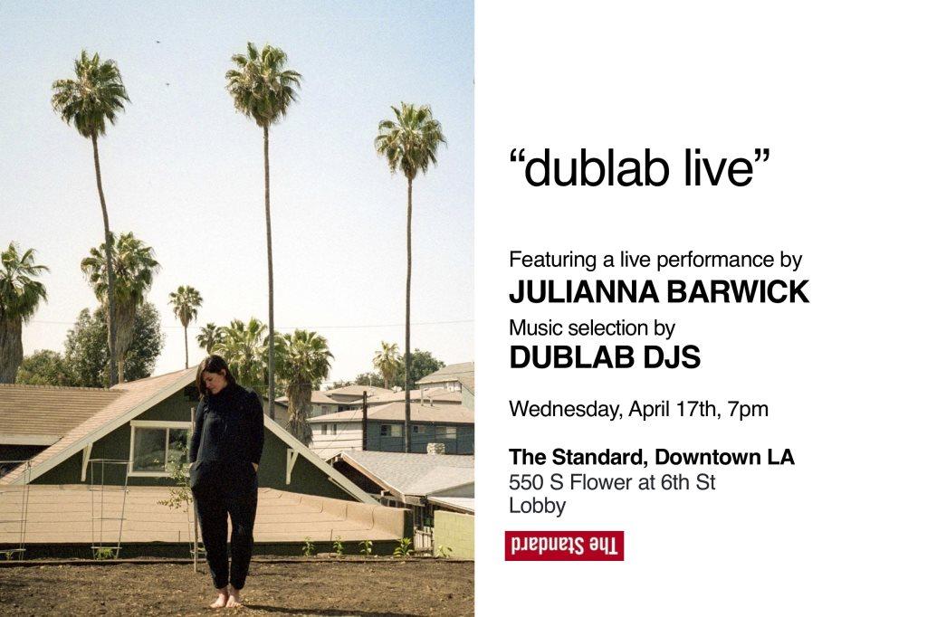 Dublab Live with Julianna Barwick Live and Dublab DJs - Flyer front