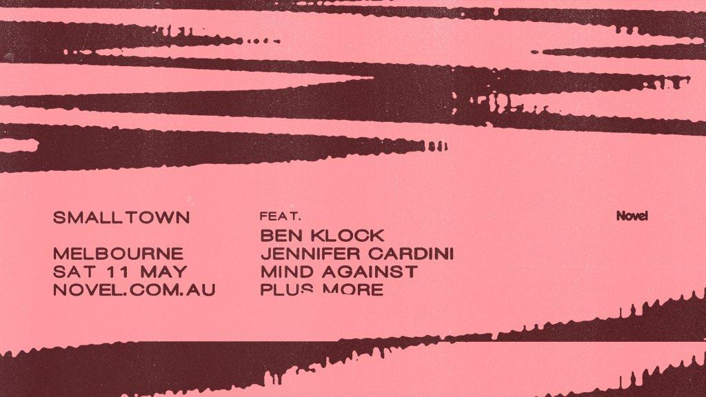 Smalltown with Ben Klock, Jennifer Cardini + Mind Against - Flyer front