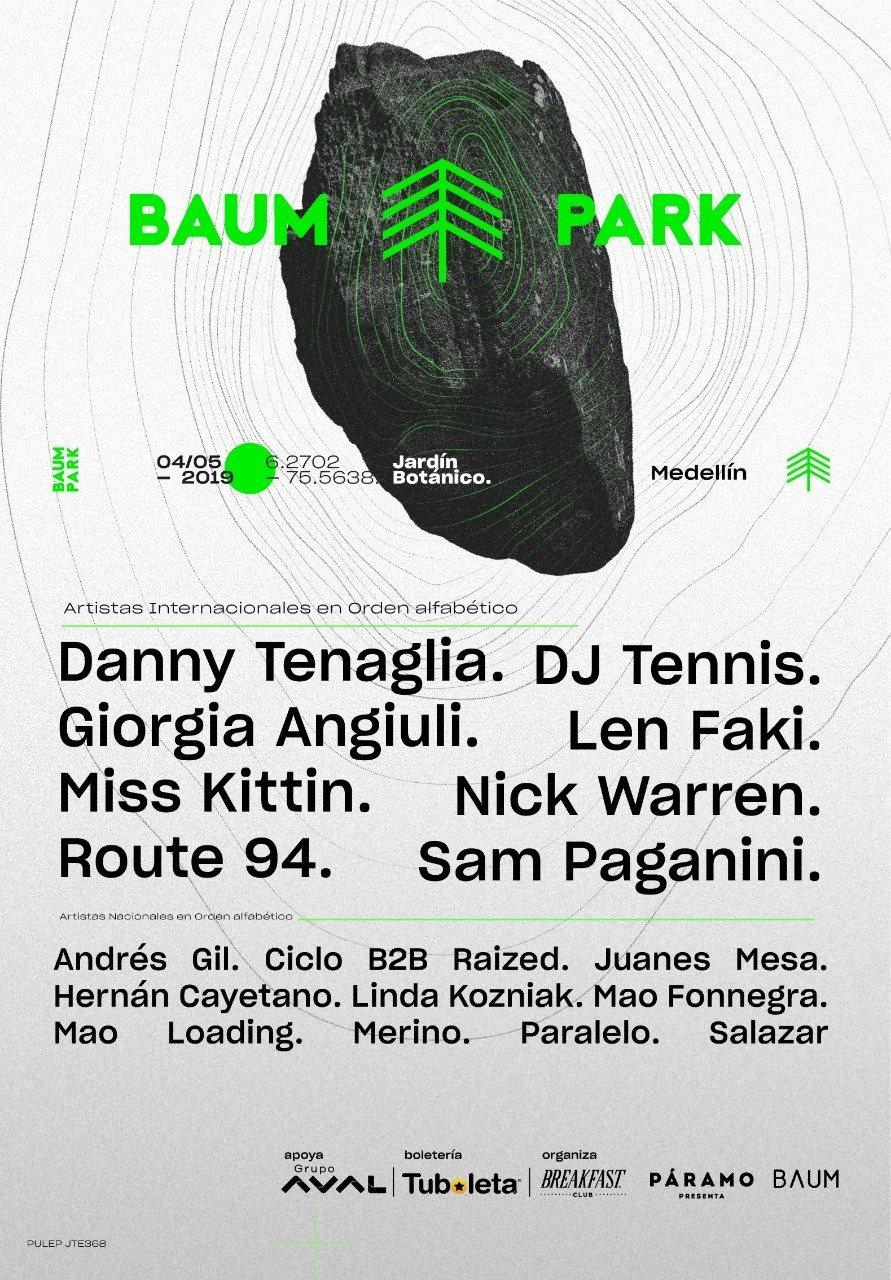 Baum Park 2019 - Flyer front
