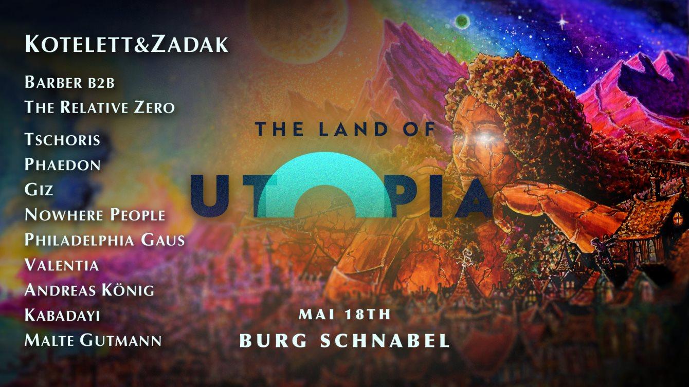 Land of Utopia 004 - Flyer front