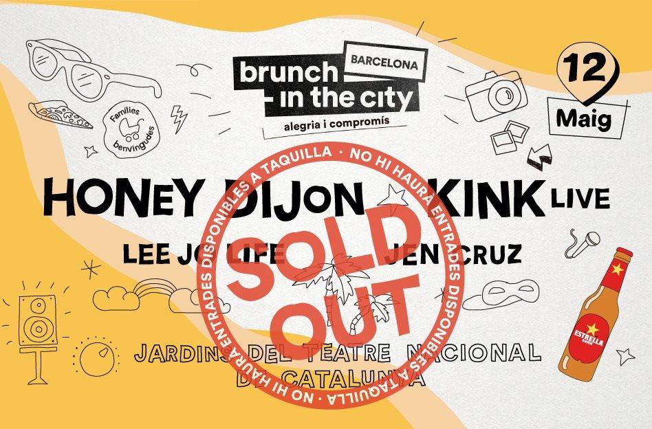 ***Sold Out*** Brunch -In the City #5: KiNK Live, Honey Dijon, Lee Jo Life, Jen Cruz - Flyer back