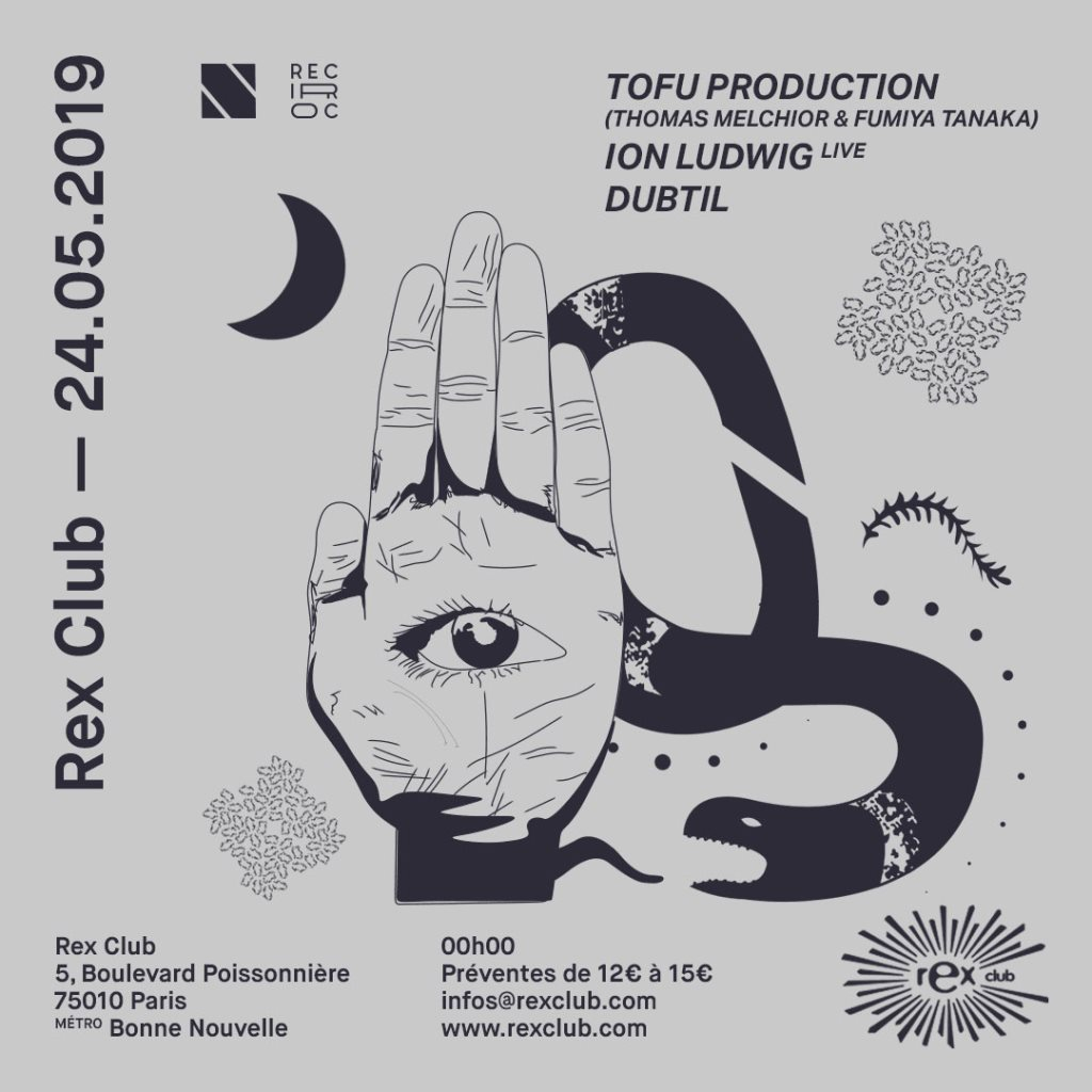 Reciproc x Toi Toi: Tofu Production, Ion Ludwig Live, Dubtil - Flyer front