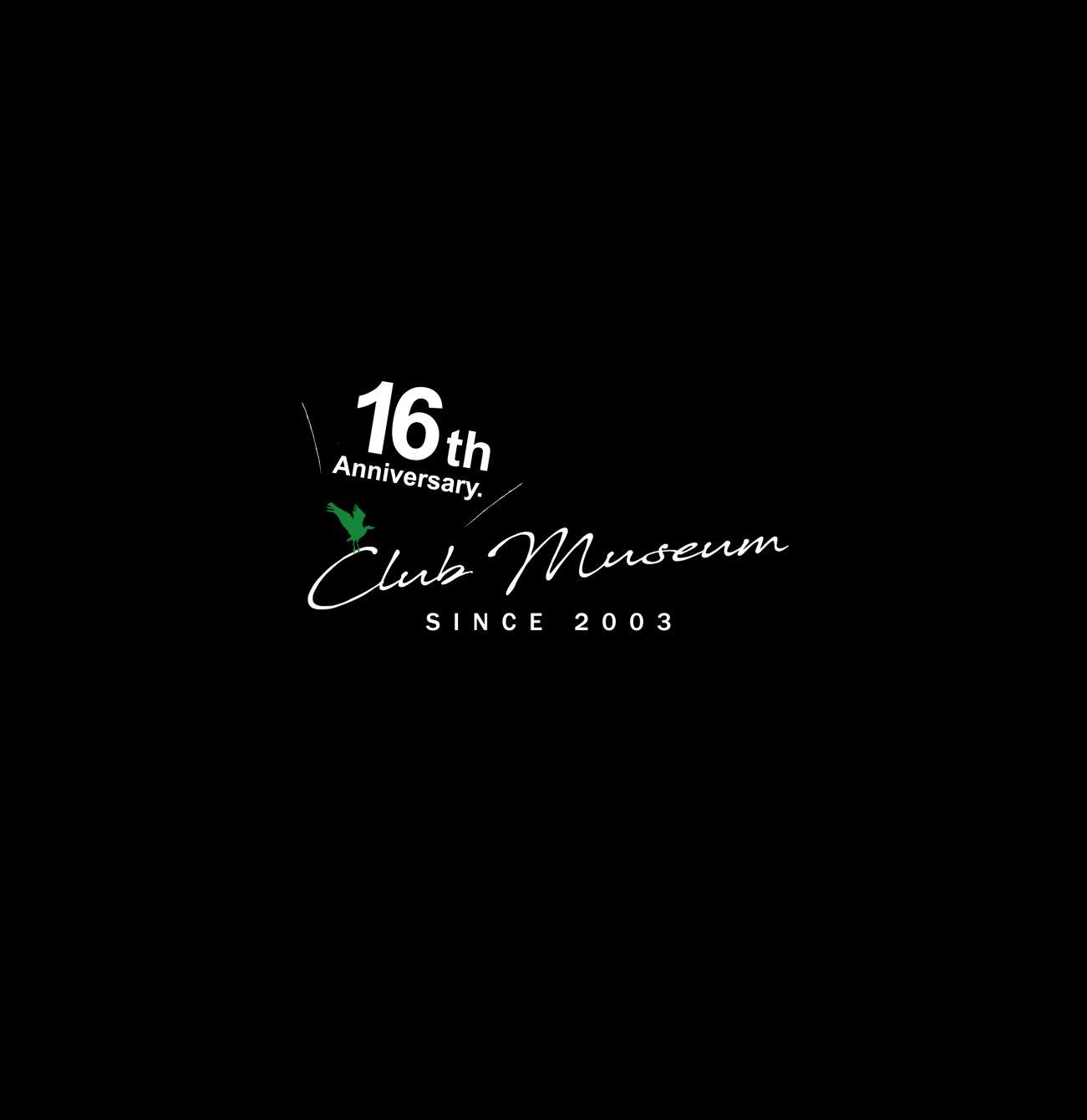 Club Museum 16th Anniv. / Ken Ishii / R&S 1983 - 2018 - Flyer front