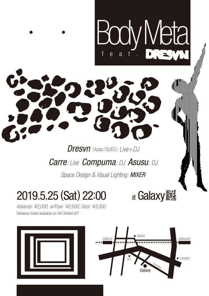 Body Meta Feat. Dresvn - Flyer front