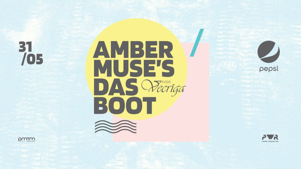 Amber Muse's Das Boot Season Opening - Flyer front