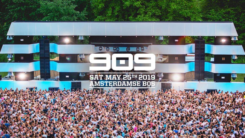 909 I Festival I 2019 - Flyer front