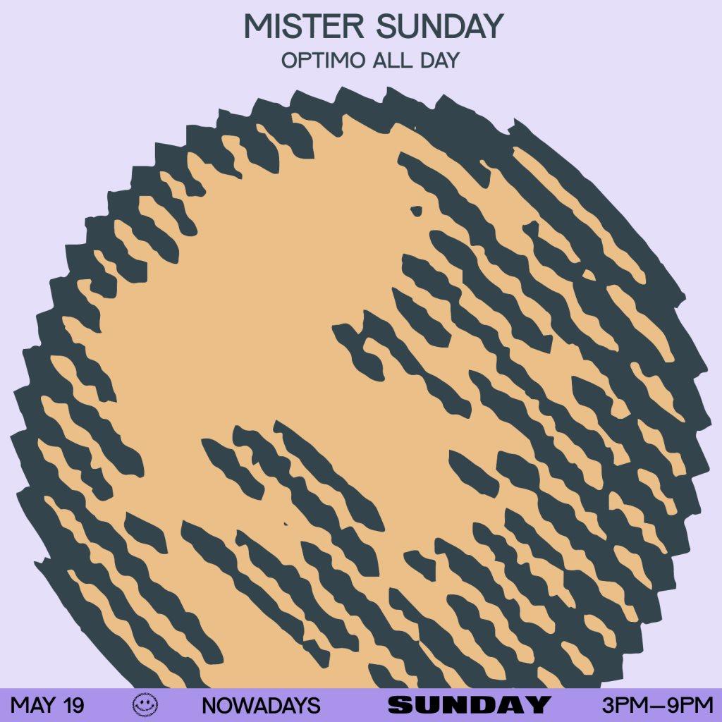 Mister Sunday: Optimo All Day - Flyer back