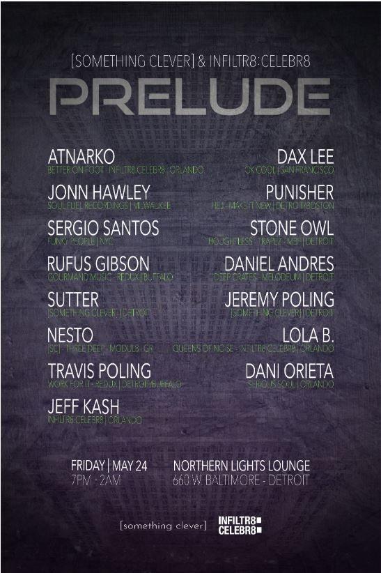 Prelude Detroit - Flyer back
