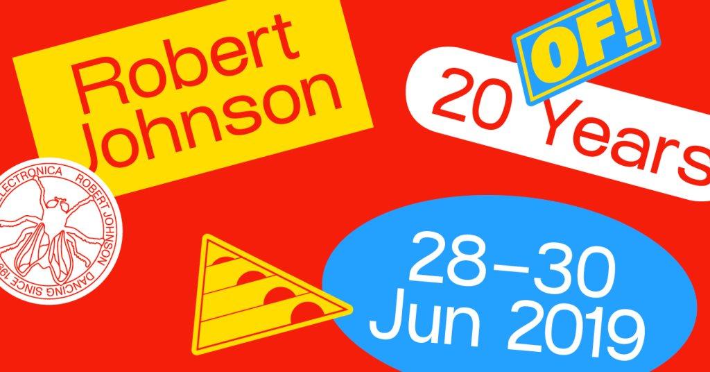 20 Years Robert Johnson - Flyer front