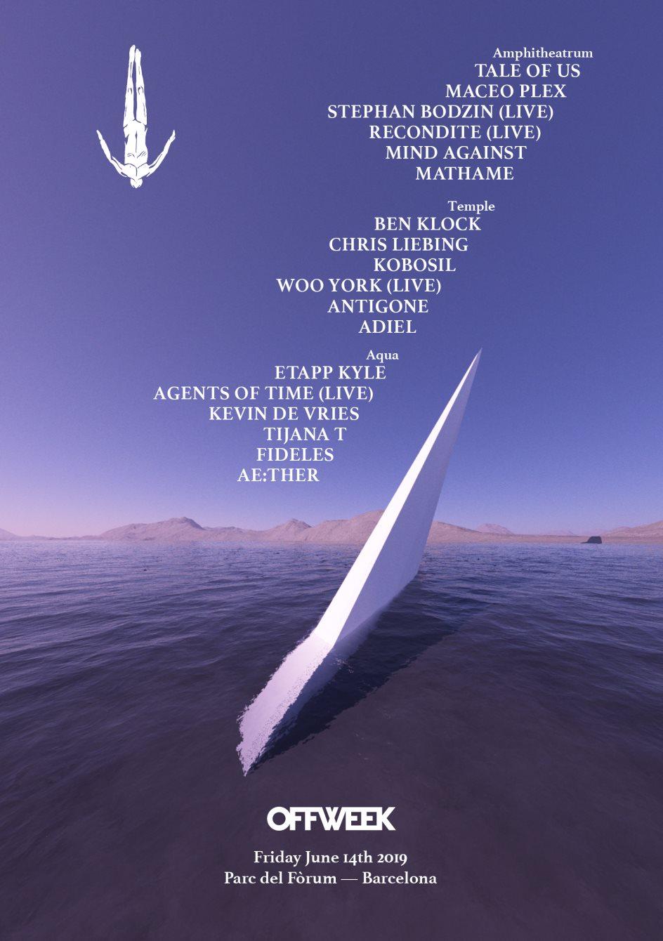 Afterlife Barcelona 2019 - Flyer front