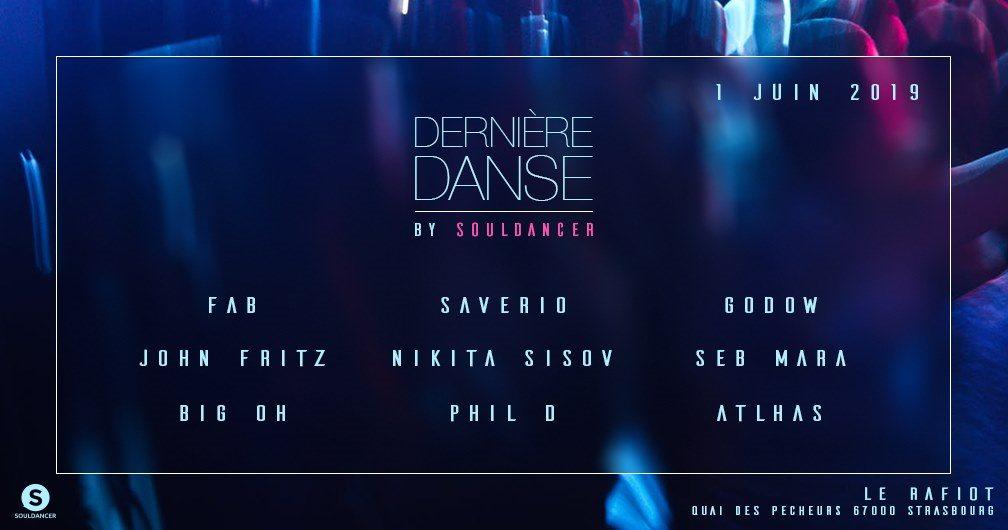 Dernière Danse by Souldancer - Flyer front