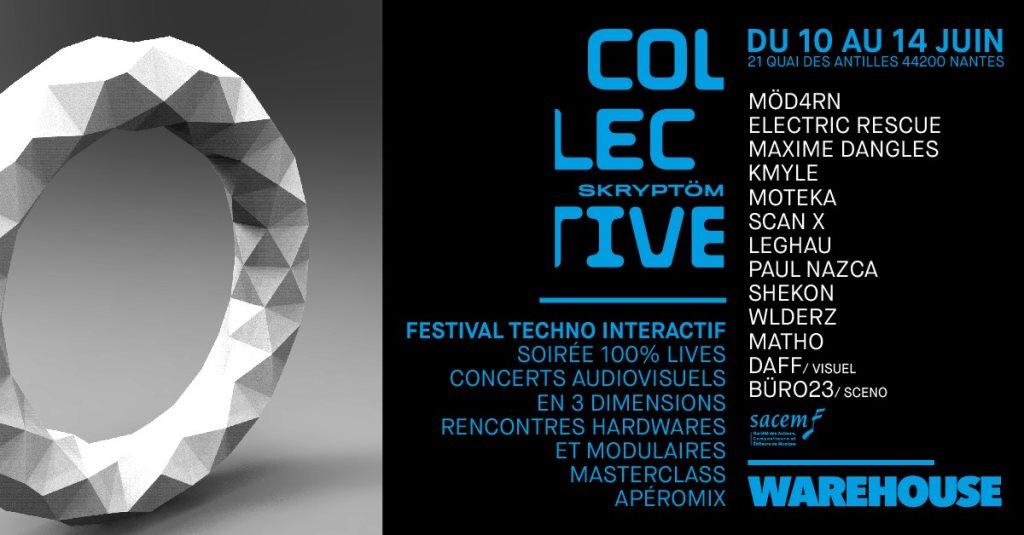 Skryptom Collective Festival - Flyer front
