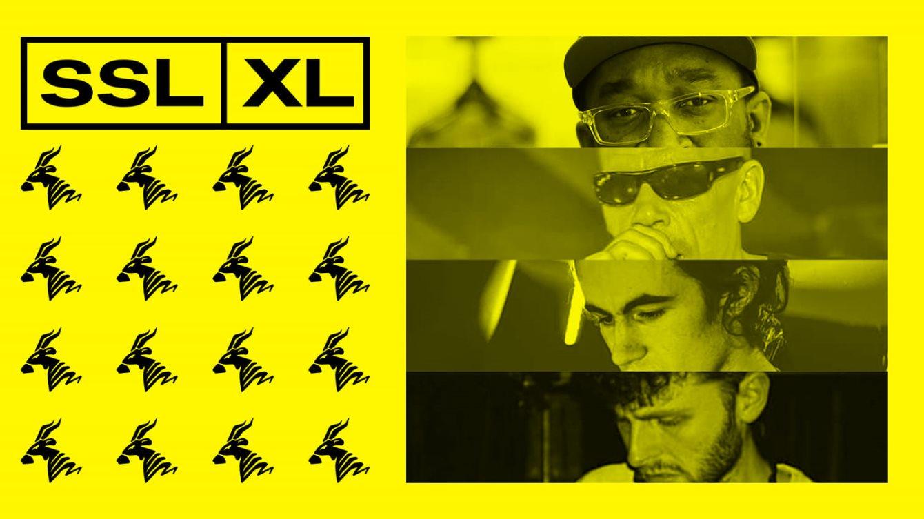 SSL XL: Groove Chronicles, Proc Fiskal, MC Uno, Skillis, Deburgh - Flyer front
