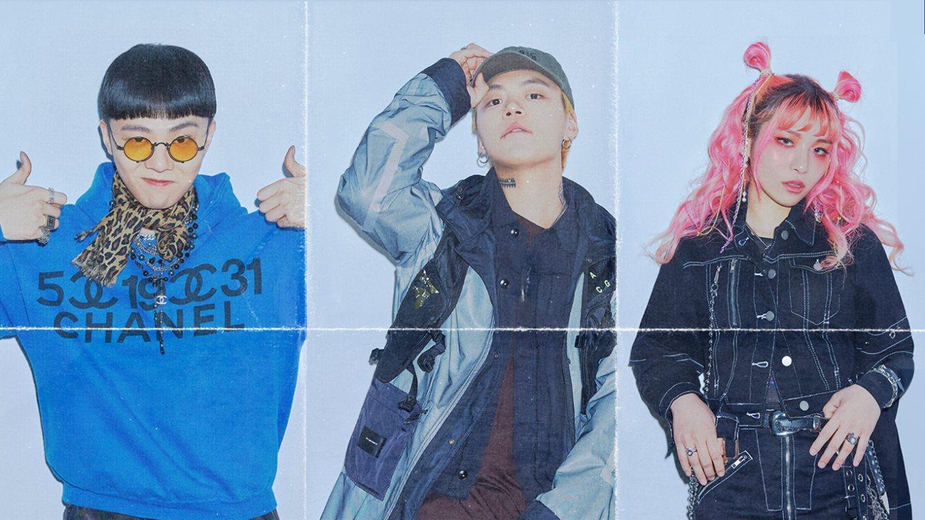 Giriboy, Kid Milli, Jvcki Wai, DJ SQ - Flyer front
