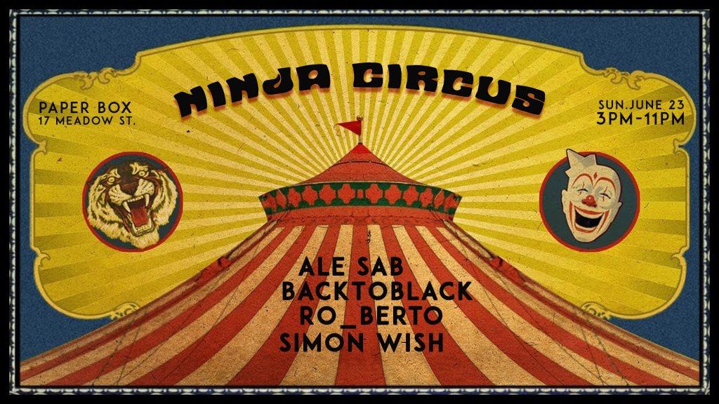 Ninja Circus - Flyer front
