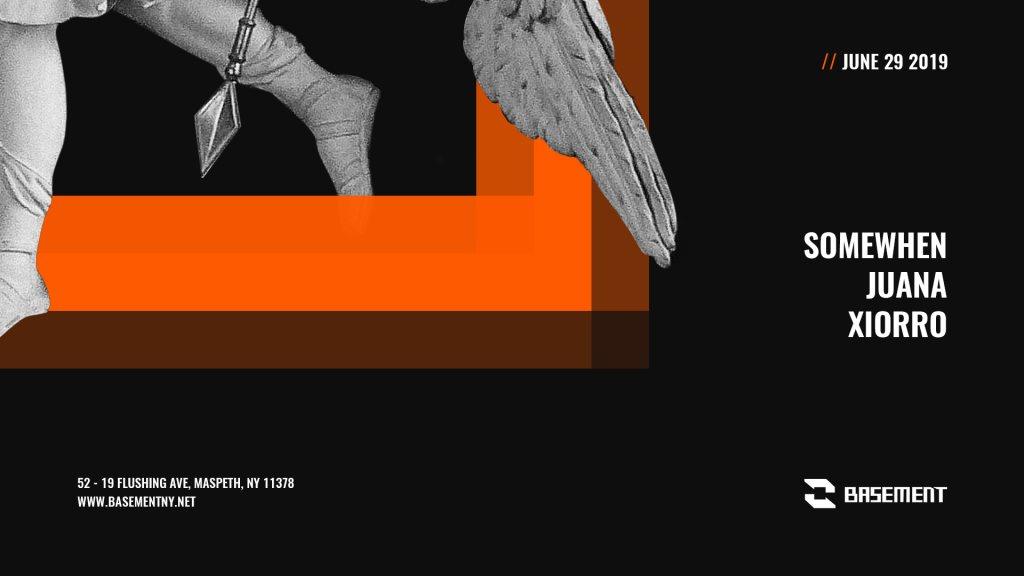 Somewhen / Juana / Xiorro - Flyer front