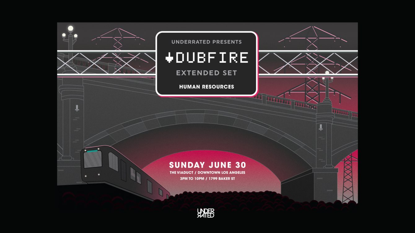 Dubfire at The Viaduct (Extended Set) - Flyer front